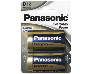 Щелочные батарейки Everyday Power (D) Panasonic LR20REE/2BR свитер everyday kelvin