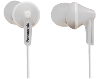 Наушники-вкладыши Panasonic RP-HJE125E panasonic rp hje125e v in ear earphone wired headset fone