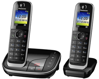DECT телефон Panasonic KX-TGJ322RUB телефон dect philips m5601wg 51