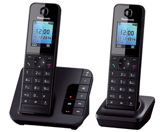 DECT телефон Panasonic KX-TGH222RUB телефон dect philips m5601wg 51