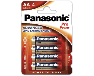 Щелочные батарейки Pro Power (AA) Panasonic LR6XEG/4BP цена и фото