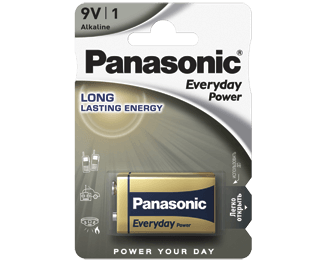 Щелочные батарейки Everyday Power (9V) Panasonic 6LR61REE/1BR свитер everyday kelvin