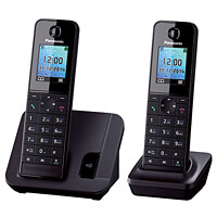 DECT телефон Panasonic KX-TGH212RUB сотовый телефон senseit t100 black