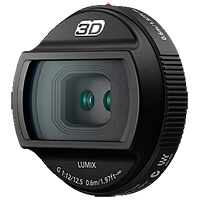 Фото - 3D объектив Panasonic H-FT012E объектив