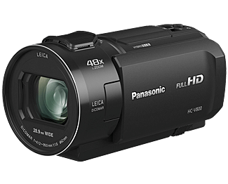 Full HD видеокамера Panasonic Panasonic HC-V800EE-K видеокамера panasonic hc v760 black