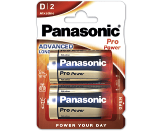 Щелочные батарейки Pro Power (D) Panasonic LR20XEG/2BP литиевые дисковые батарейки panasonic panasonic cr 2025el 1b