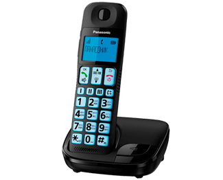 DECT телефон Panasonic KX-TGE110RUB телефон dect philips m5601wg 51