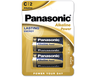 Щелочные батарейки Alkaline Power (C) Panasonic LR14REB-2BP