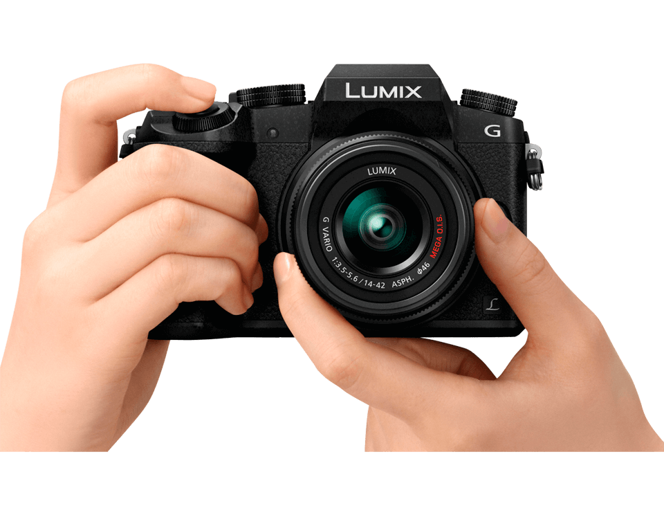 Приобрести Системный беззеркальный 4K фотоаппарат Panasonic LUMIX Lumix DMC-G7 Kit